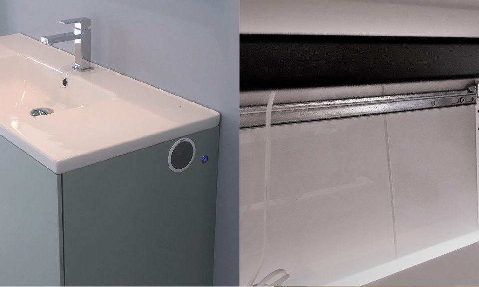 Läs mer om hur du installerar inbyggnadshögtalaren Orlo CAB i ett skåp, tak, vägg eller varför inte i ett badrumsskåp.